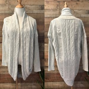 A/X Armani Exchange Natural Cream Sweater Duster